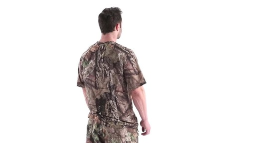 Guide Gear Men's Performance Hunting Short-Sleeve Shirt 360 View - image 4 from the video