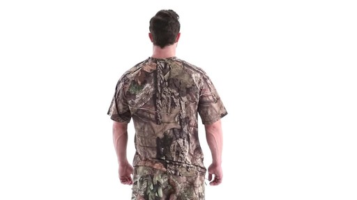 Guide Gear Men's Performance Hunting Short-Sleeve Shirt 360 View - image 5 from the video