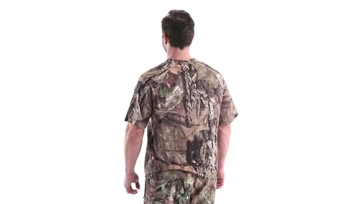 Guide Gear Men's Performance Hunting Short-Sleeve Shirt 360 View - image 6 from the video