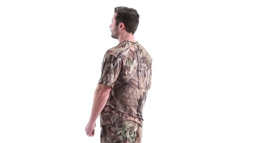 Guide Gear Men's Performance Hunting Short-Sleeve Shirt 360 View - image 7 from the video
