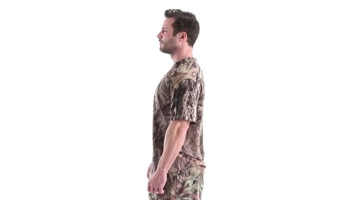 Guide Gear Men's Performance Hunting Short-Sleeve Shirt 360 View - image 8 from the video
