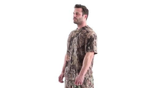 Guide Gear Men's Performance Hunting Short-Sleeve Shirt 360 View - image 9 from the video