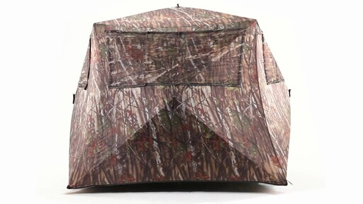 Guide Gear Camo Flare Out 5-Hub Ground Hunting Blind 360 View - image 3 from the video