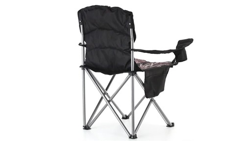 Guide Gear Mossy Oak Break-Up COUNTRY Oversized King Chair 500-lb.Capacity 360 View - image 8 from the video