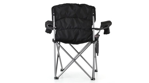 Guide Gear Mossy Oak Break-Up COUNTRY Oversized King Chair 500-lb.Capacity 360 View - image 9 from the video