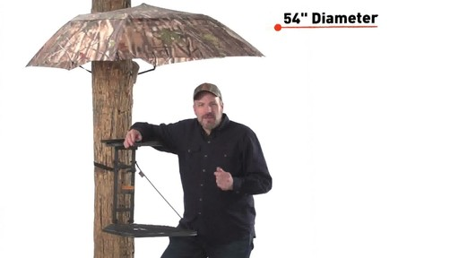 Guide Gear Camo Umbrella Blind - image 2 from the video