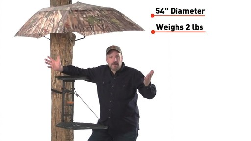 Guide Gear Camo Umbrella Blind - image 3 from the video