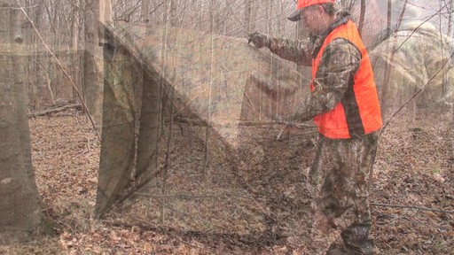 Guide Gear Silent Adrenaline Camo Ground Hunting Blind - image 2 from the video
