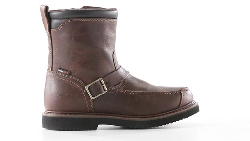Guide Gear Men's Uplander Hunting Boots Waterproof Side-zip 360 View - image 1 from the video