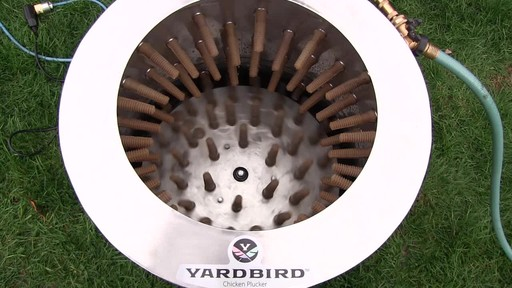 YARDBIRD 1.5HP CHICKEN PLUCKER - image 6 from the video