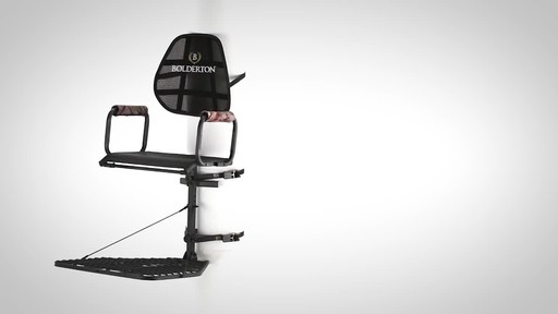 Bolderton Deluxe Hang-On Tree Stand - image 1 from the video