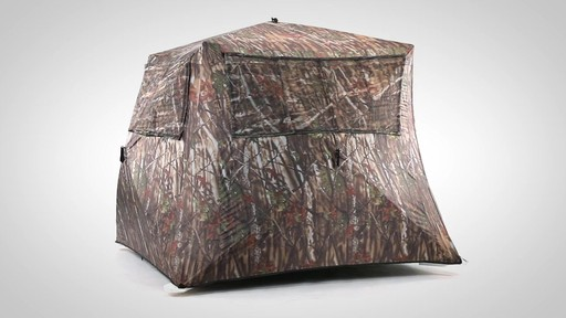 Guide Gear Camo Flare Out 5-Hub Ground Hunting Blind - image 8 from the video