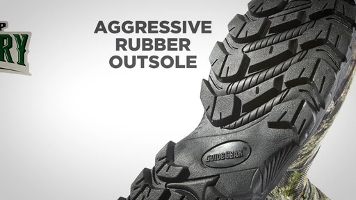 Guide Gear Men's Wood Creek Rubber Hunting Boots Waterproof - image 2 from the video