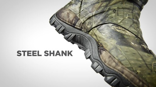 Guide Gear Men's Wood Creek Rubber Hunting Boots Waterproof - image 7 from the video