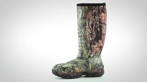 Guide Gear Men's Wood Creek Rubber Hunting Boots Waterproof - image 9 from the video