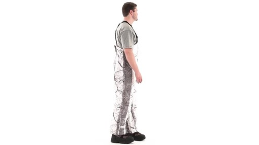 Huntworth Snow Camo Hunting Bibs 360 View - image 1 from the video