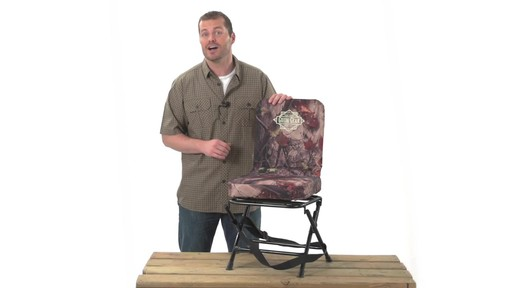 Guide Gear Swivel Hunting Chair Camo - image 4 from the video