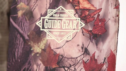 Guide Gear Swivel Hunting Chair Camo - image 5 from the video