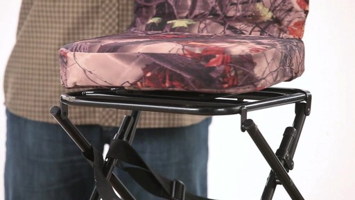 Guide Gear Swivel Hunting Chair Camo - image 6 from the video