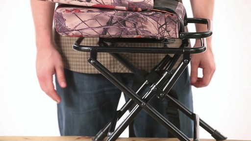Guide Gear Swivel Hunting Chair Camo - image 8 from the video