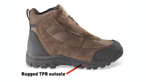Guide Gear Men's Silvercliff Insulated Boots Waterproof Thinsulate 400 Gram - image 3 from the video