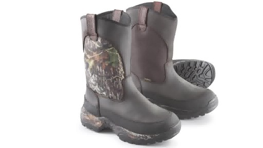 Guide Gear Men's Hunting Pull-On Boots 1000 Gram Thinsulate Waterproof - image 1 from the video