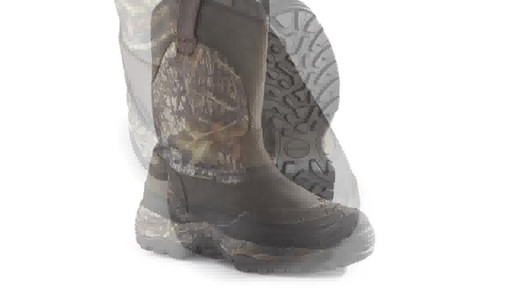 Guide Gear Men's Hunting Pull-On Boots 1000 Gram Thinsulate Waterproof - image 3 from the video