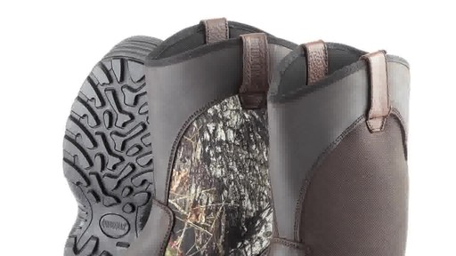 Guide Gear Men's Hunting Pull-On Boots 1000 Gram Thinsulate Waterproof - image 4 from the video
