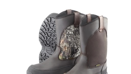 Guide Gear Men's Hunting Pull-On Boots 1000 Gram Thinsulate Waterproof - image 5 from the video