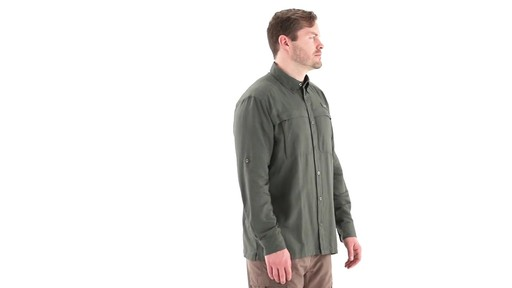 Guide Gear Men's Traverse Long Sleeve Shirt 360 View - image 2 from the video