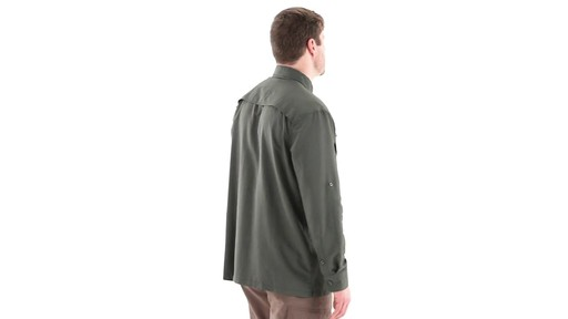 Guide Gear Men's Traverse Long Sleeve Shirt 360 View - image 3 from the video