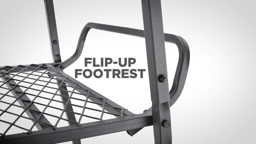 Guide Gear 18' Jumbo Ladder Tree Stand - image 6 from the video