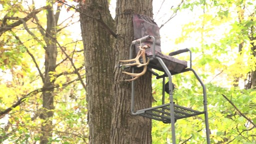Guide Gear 16' Archer's Ladder Tree Stand - image 10 from the video
