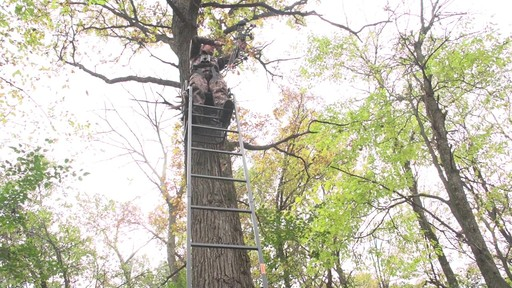 Guide Gear 16' Archer's Ladder Tree Stand - image 2 from the video