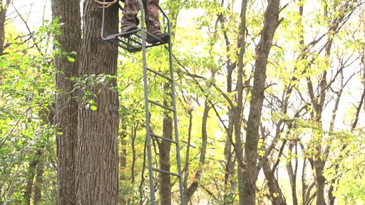 Guide Gear 16' Archer's Ladder Tree Stand - image 3 from the video