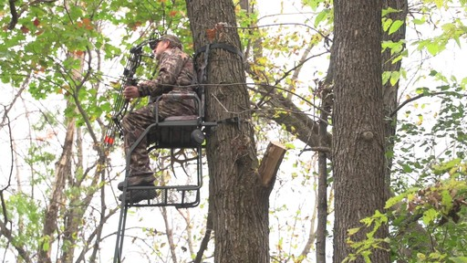 Guide Gear 16' Archer's Ladder Tree Stand - image 8 from the video