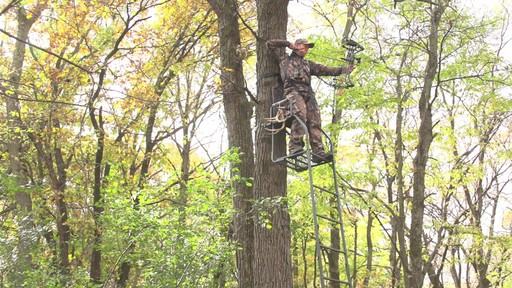 Guide Gear 16' Archer's Ladder Tree Stand - image 9 from the video