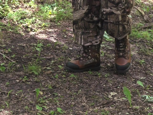 Guide Gear Waterproof Brushtough 1000gm Boot - image 3 from the video
