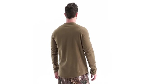 Guide Gear Men's Heavyweight Fleece Base Layer Top 360 View - image 5 from the video