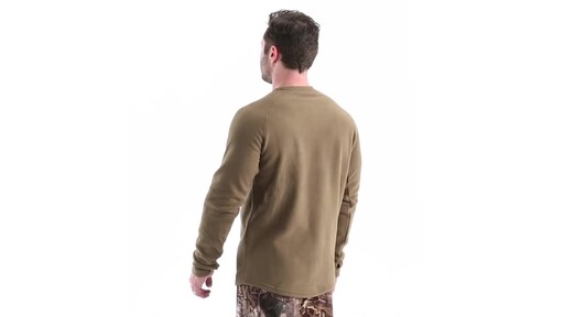 Guide Gear Men's Heavyweight Fleece Base Layer Top 360 View - image 7 from the video