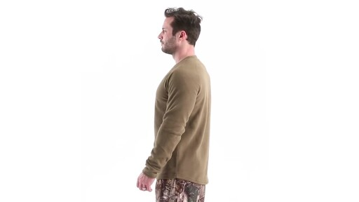 Guide Gear Men's Heavyweight Fleece Base Layer Top 360 View - image 8 from the video