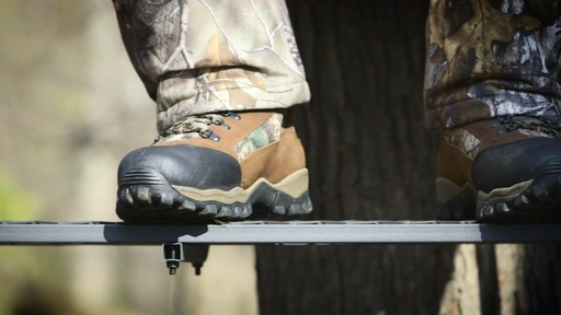 Guide Gear Sentry Hunting Boots Waterproof 2000 Gram Insulated Realtree Xtra - image 10 from the video