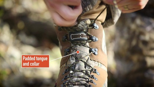Guide Gear Sentry Hunting Boots Waterproof 2000 Gram Insulated Realtree Xtra - image 4 from the video