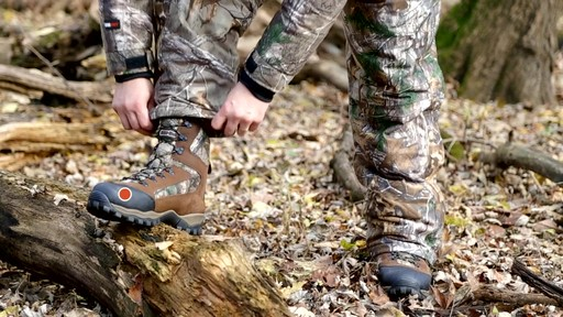 Guide Gear Sentry Hunting Boots Waterproof 2000 Gram Insulated Realtree Xtra - image 7 from the video