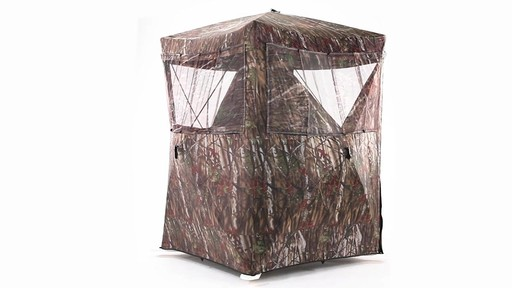 Guide Gear Oversized Ground Hunting Blind 360 View - image 10 from the video