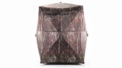 Guide Gear Oversized Ground Hunting Blind 360 View - image 3 from the video