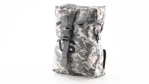 U.S. Military Surplus Sustainment Pouch New 360 View - image 9 from the video