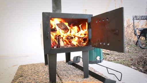 Guide Gear Outdoor Wood Stove - image 6 from the video