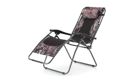 Guide Gear Oversized Mossy Oak Break-Up COUNTRY Zero-Gravity Chair 500 lb. 360 View - image 8 from the video