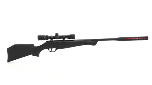 Crosman Redtail Nitro Piston Break Barrel Air Rifle .177/.22 Caliber 4x32mm Scope 360 View - image 7 from the video